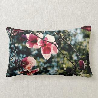 Pink Magnolia - Tropical - Lumbar Pillow