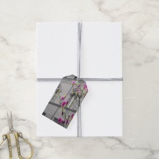 Pink Magnolias Gift Tags
