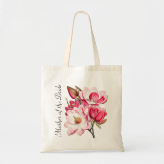 Pink Magnolias Mother of the Bride Tote Bag