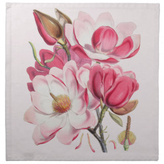 Pink Magnolias Napkin
