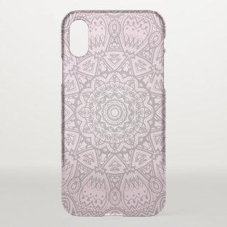 Pink Mandala Art Cosmic Cleary iPhone 8  X Case