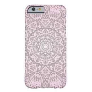 Pink Mandala Art iPhone Case