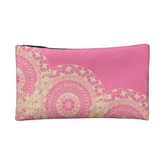 Pink Mandala Bag Makeup Bags