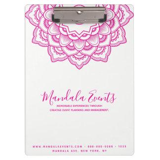 Pink Mandala Clipboard