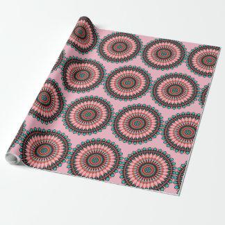 Pink  Mandala Mystical Gift Wrap