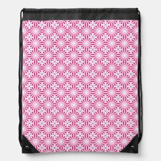 Pink Mandala Pattern Mochilas