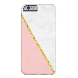 Pink Marble Barely There iPhone 6 Case