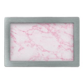 Pink  Marble Belt Buckles