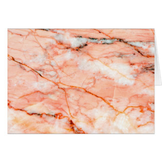 Pink marble card
