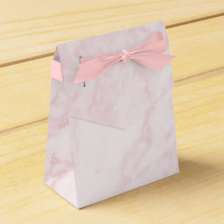 Pink Marble Favor Box