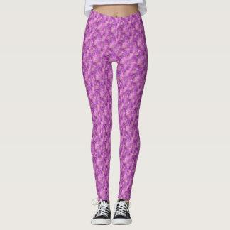 Pink Marble Look Leggings