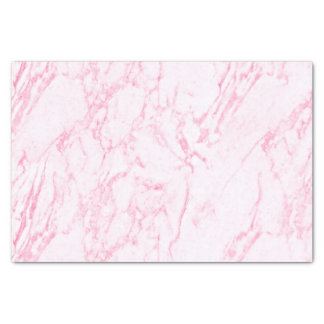 Pink Marble Look Tissue Paper