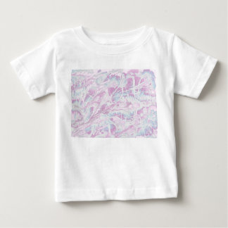 Pink Marble Pattern Baby T-shirt
