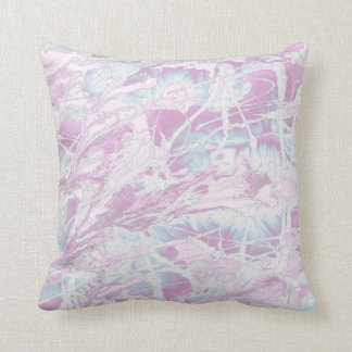 Pink Marble Pattern Pillow