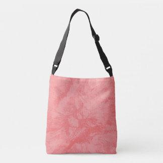 Pink Marble Splash Crossbody Bag