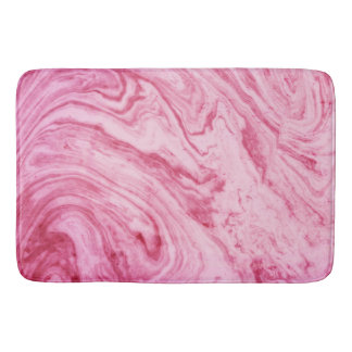 pink marble texture pattern elegant beautiful bath mat