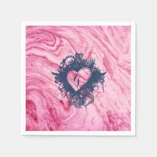 pink marble texture pattern elegant beautiful paper napkins