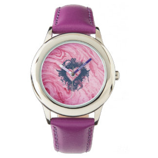 pink marble texture pattern elegant beautiful watch