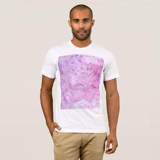 Pink Marble Watercolour Splat T-Shirt