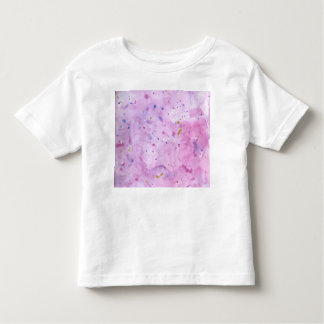 Pink Marble Watercolour Splat Toddler T-shirt