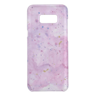 Pink Marble Watercolour Splat Uncommon Samsung Galaxy S8 Plus Case