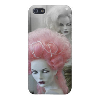 Pink Marie Antoinette Wig iPhone 5/5S Covers
