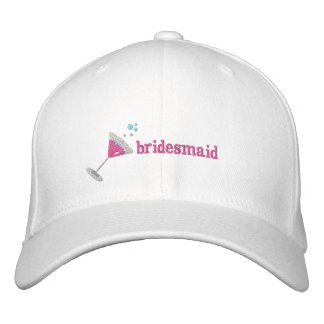 Pink Martini Personalized Embroidered hat