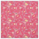 Pink Martinis Fabric