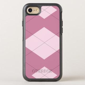 Pink & Mauve Argyle iPhone 6/6s Otterbox OtterBox Symmetry iPhone 7 Case