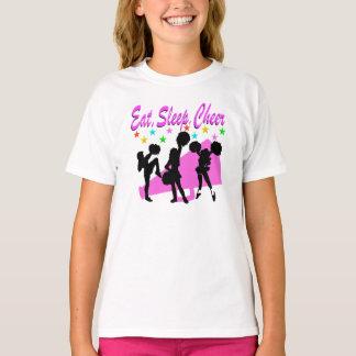 PINK MEGAPHONE CHEERLEADING DESIGN T-Shirt