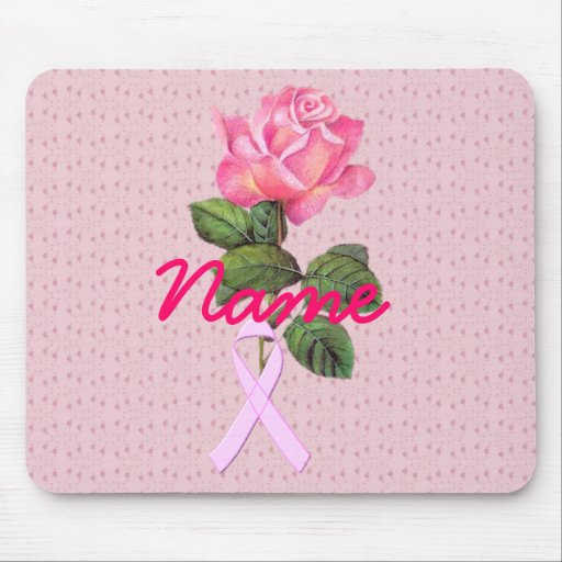 Pink Memory Rose Mouse Pad