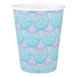 Pink Mermaid scales ,boho,hippie,bohemian Paper Cup