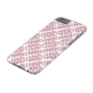 Pink Mini Flop Flop Pattern Barely There iPhone 6 Case