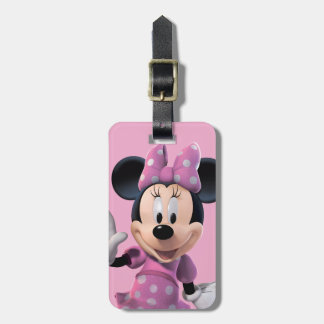 Pink Minnie | Cute Pose Bag Tag