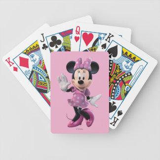 Pink Minnie | Cute Pose Poker Deck