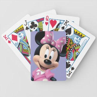 Pink Minnie | Hands Behind Back Poker Deck