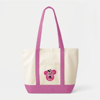 Pink Minnie | Mickey Head Icon Tote Bag