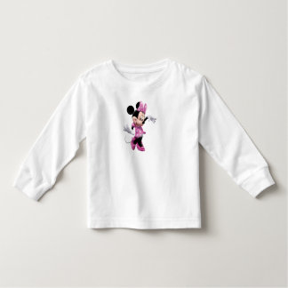 Pink Minnie   Waving and Dancing Toddler T-shirt