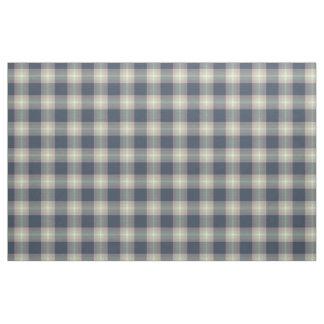 Pink Mint Green Dark Blue Tartan Squares Pattern Fabric