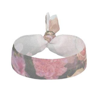 Pink Mixed Flower Bouquet Hair Tie