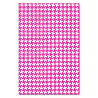 Pink Modern Houndstooth at Emporiomoffa Tissue Paper