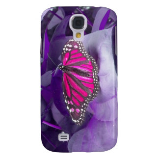 Pink Monarch Butterfly iPhone 3 case