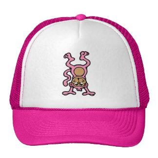 Pink Monkey Trucker Hat