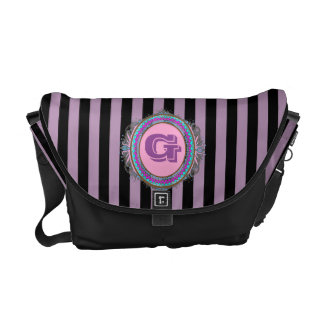 Pink Monogram Designer Bag Messenger Bag