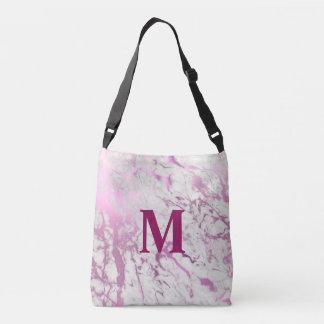 Pink monogram Wedding Totte Bag