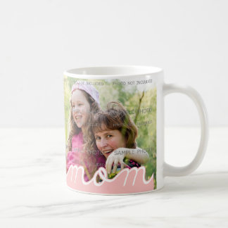 Pink Mother s Day Personalized Mugs with Photo