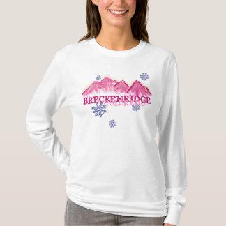 Pink mountains Breckenridge Colorado hoodie