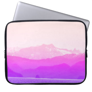 Pink Mountains Laptop Sleeve