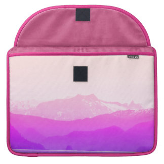 Pink Mountains Macbook Sleeve