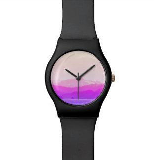 Pink Mountains Watch